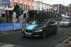 Team sky Royalty Free Stock Image