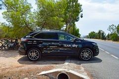Team Sky Car La Vuelta España Stock Photos