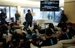 Team Sky cycling Manager Dave Brailsford Royalty Free Stock Images