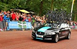 Team Sky in de Ronde van Frankrijk Stock Foto's