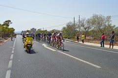 Team Sky In la Vuelta España Stock Photography