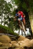 Team Sky rider at Momentum Health Int Royalty Free Stock Photo