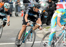 Team Sky's cyclist Spanish Xabier Zandio Royalty Free Stock Photography