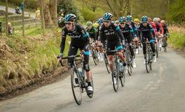 Team Sky Tour de Yorkshire 2015 image libre de droits