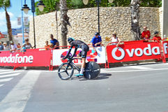 Team Sky TT Bike La Vuelta Royalty Free Stock Image