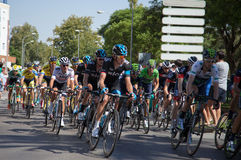 Team Sky - Vuelta a España Stage 2 Stock Photos