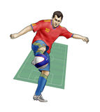 Team Spain Stock Images