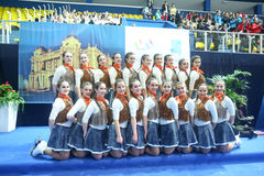 Team Spain group shot Stock Photos