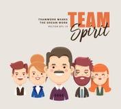 Team Spirit Fotografía de archivo libre de regalías