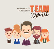 Team spirit Royalty Free Stock Photography