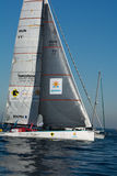 Team Spirit of Hungary. Barcelona World Race Royalty Free Stock Images