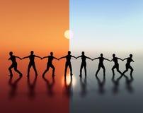 Team spirit - leadership Royalty Free Stock Image