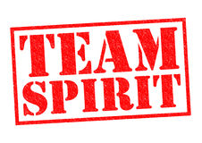 TEAM SPIRIT Royalty Free Stock Photos
