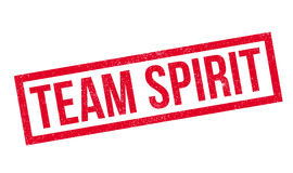 Team Spirit rubber stamp. Grunge design with dust scratches. Effects can be easily removed for a clean, crisp look. Color is easily changed Royalty Free Stock Photos
