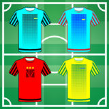 Team Sportswear Uniform Stock Images