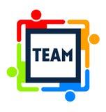 Team Square Lizenzfreie Stockbilder