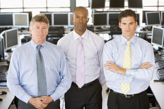 Team Of Stock Traders Stock Images