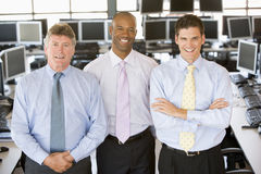 Team Of Stock Traders Royalty Free Stock Photography