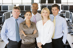 Team Of Stock Traders Stock Photos