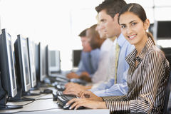 Team Of Stock Traders At Work Royalty Free Stock Photo
