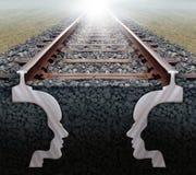 Team Strategy On Track Lizenzfreies Stockbild