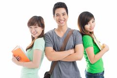 Team of students Stock Image