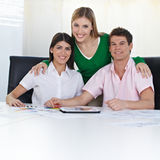 Team of students learning color Stock Image