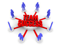 Team success. Stock Images