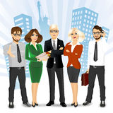 Team of successful businesspeople Royalty Free Stock Photo