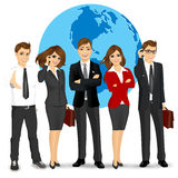Team of successful businesspeople Stock Photography