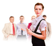 Team of successful managers Royalty Free Stock Photos
