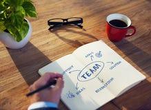 Team Support Ideas Business Concept Stock Photos