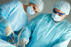 Team of surgeons Royalty Free Stock Photography