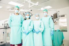 Team of surgeons ready to operate Royalty Free Stock Photos