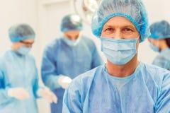 Team surgeons at work Royalty Free Stock Photo