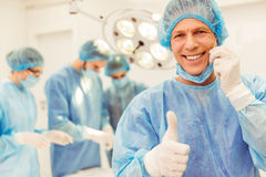 Team surgeons at work Royalty Free Stock Photography