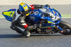 Team Suzuki Catala. 24 hours endurance Catalunya Stock Image