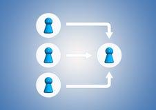 Team symbols Stock Photos
