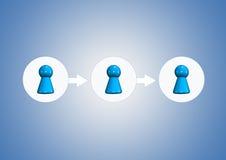 Team symbols Stock Photography