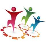 Team Synergy. An image of team synergy Stock Photo