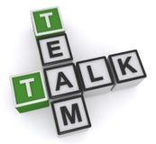 Team Talk illustration de vecteur