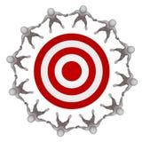 Team target Stock Image