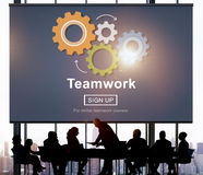 Team Teamwork Collaboration Cooperation Concept Stock Images