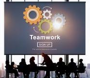 Team Teamwork Collaboration Cooperation Concept Imagenes de archivo