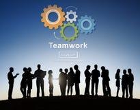 Team Teamwork Collaboration Cooperation Concept Fotografía de archivo