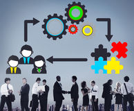 Team Teamwork Collaboration Corporate Concept images stock