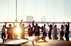 Team Teamwork Collaboration Corporate Concept Royalty Free Stock Photos