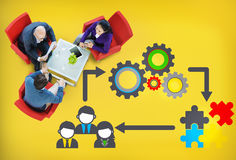 Team Teamwork Collaboration Corporate Concept Royalty Free Stock Images