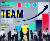 Team Teamwork Collaboration Support Concept Royalty Free Stock Image