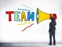 Team Teamwork Corporate Partnership Collaboration-Concept vector illustratie